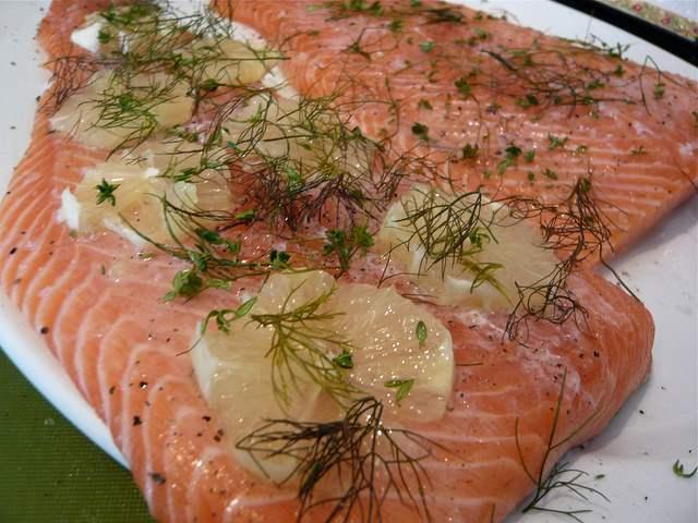 красная рыба рецепты в духовке с майонезом