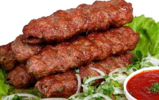 Люля-кебаб очень популярное восточное блюдо