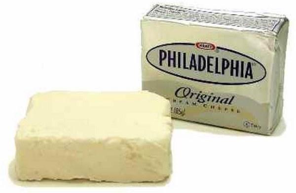 сливочный сыр филадельфия