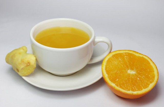 чай и апельсин