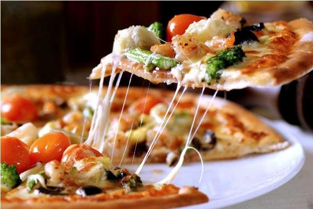 кусок пиццы
