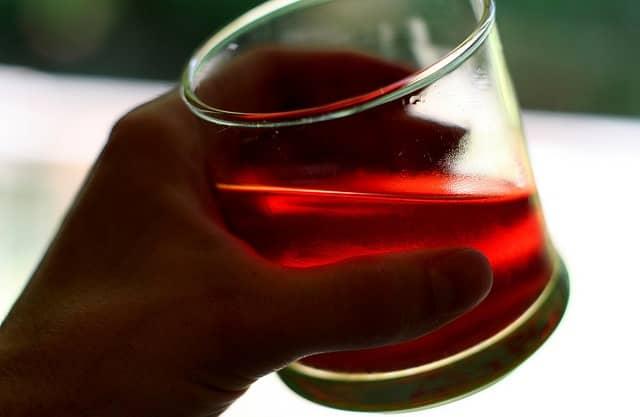стакан с морсом