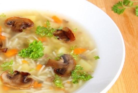 суп из свежих белых грибов свежих рецепт с вермишелью