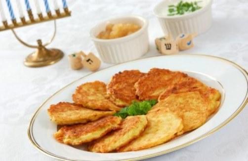 картофельные оладьи современные