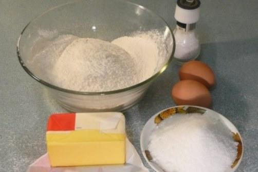 простой рецепт песочного теста
