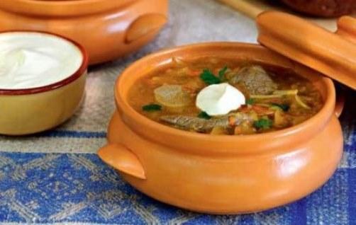 рецепт приготовления супа харчо с огурцами