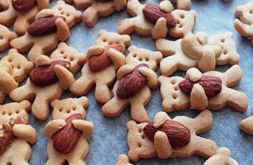 мишки с орешками
