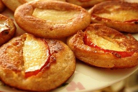 Оладушки с яблоками