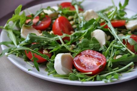 салат с рукколы