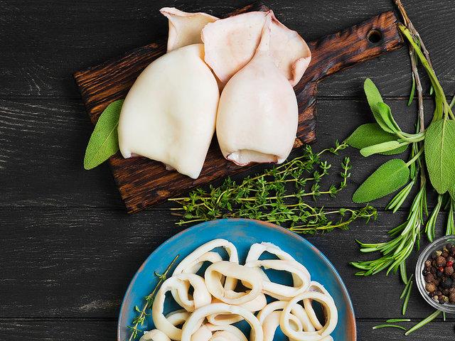 Фаршированные кальмары рецепты с фото