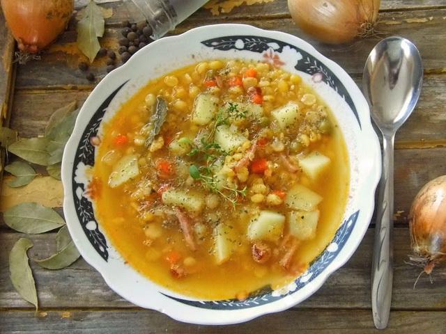Гороховый суп рецепт классический с фото