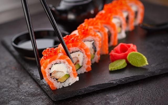 Японская кухня. Вкусная история суши