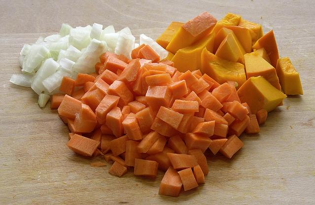 Тыквенный суп-пюре с плавленным сыром
