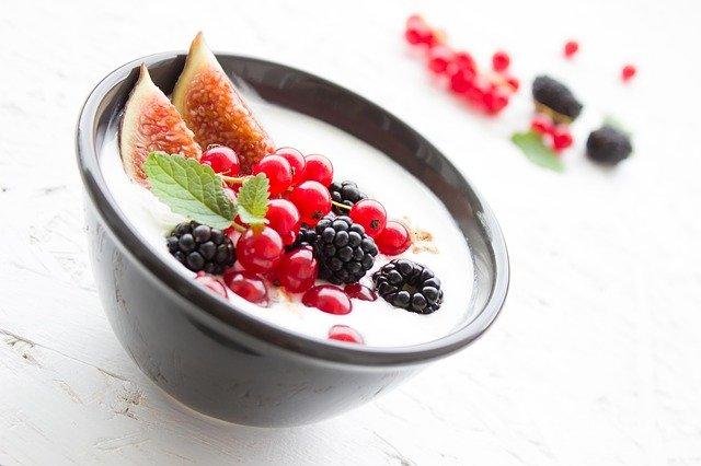 Нежный йогуртовый десерт
