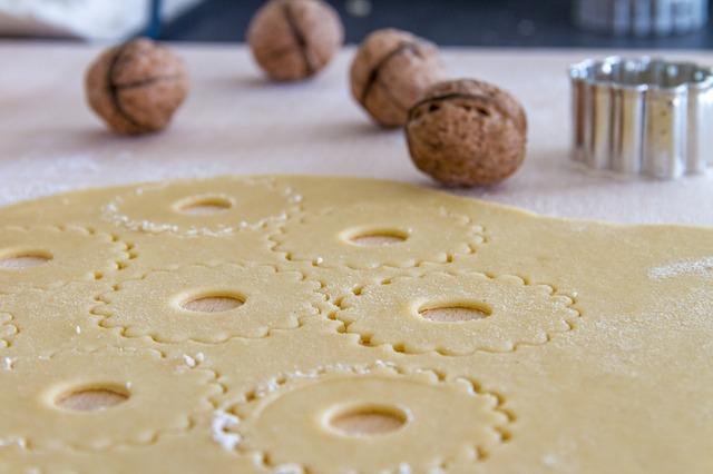 Орехово-апельсиновое печенье
