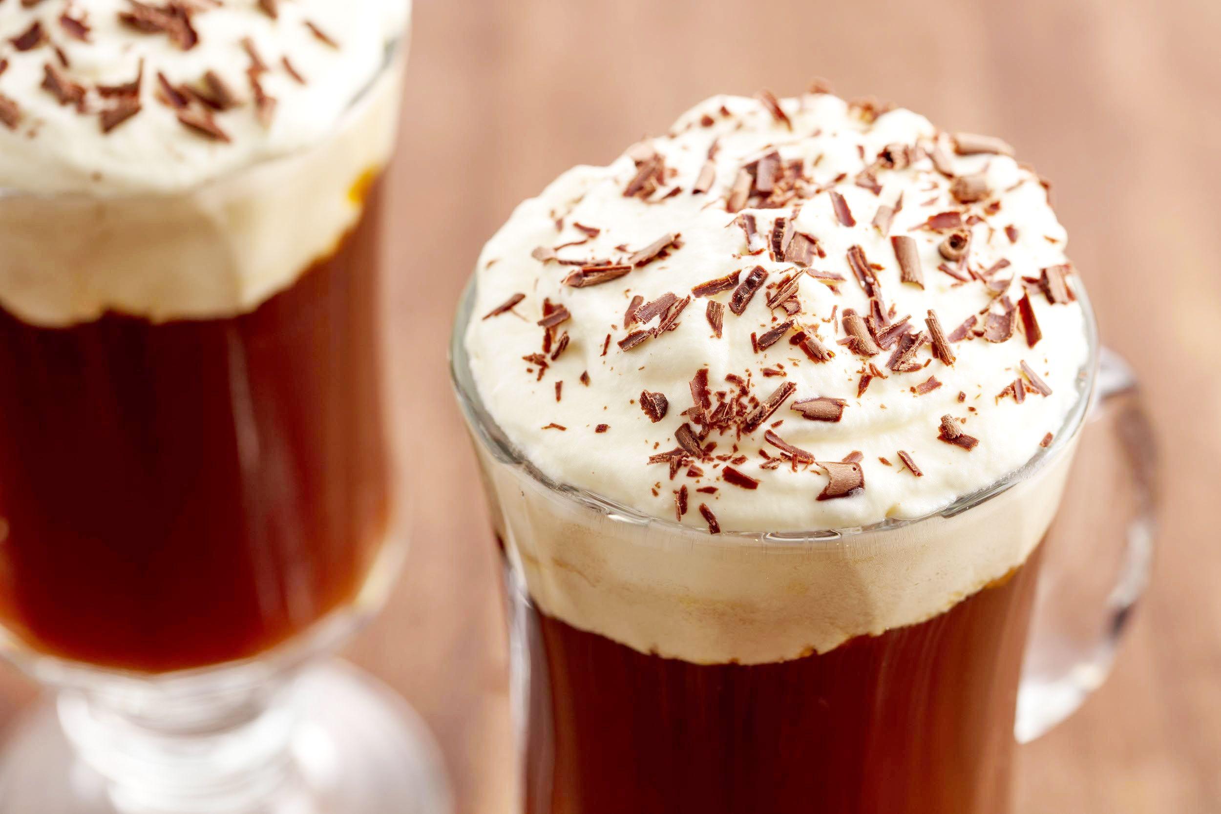 Как приготовить айриш кофе с корицей и шоколадом